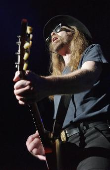 Julian Cope, who has cancelled his upcoming gig in Belfast because of the