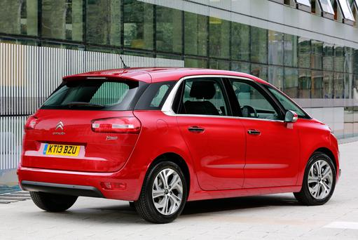 The new Citroen C4 Picasso