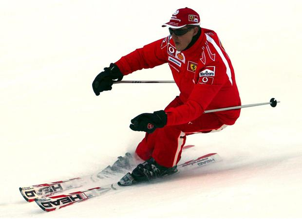 The former Formula One world champion Michael Schumacher suffered a serious head injury while skiing in the French Alps