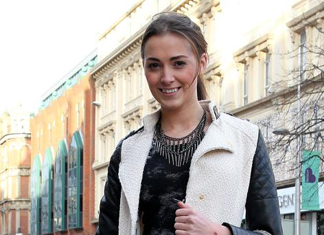 Rebecca Maguire (22), model (former Miss Ireland) and student, Belfast