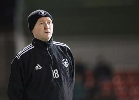 Crumlin Star manager Sean Brown is being realistic about his sides chances when they take on Premiership side Crusaders in their Irish Cup fifth round tie