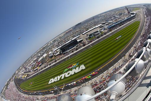 Daytona Speedway in Florida. Action Sports Photography / Shutterstock.com