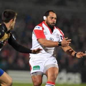 ©Press Eye Ltd Northern Ireland - 10th January 2014 Mandatory Credit - Darren Kidd /Presseye.com Heineken Cup Pool 5, Ulster v Montpellier at Ravenhill, Belfast. Ulster's John Afoa