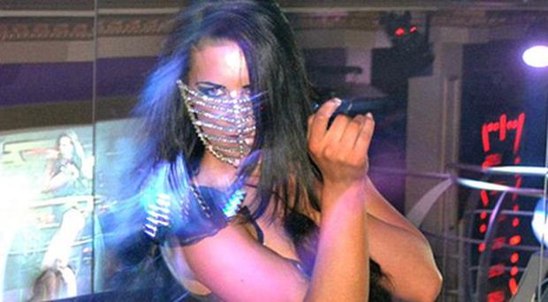 Michaella McCollum Connolly in one of the Ibiza clubs where she worked as a dancer