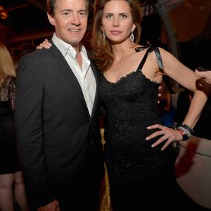BEVERLY HILLS, CA - JANUARY 12: Actor Kyle MacLachlan and Desiree Gruber attend The Weinstein Company & Netflix's 2014 Golden Globes After Party presented by Bombardier, FIJI Water, Lexus, Laura Mercier, Marie Claire and Yucaipa Films at The Beverly Hilton Hotel on January 12, 2014 in Beverly Hills, California. (Photo by Charley Gallay/Getty Images for The Weinstein Company)