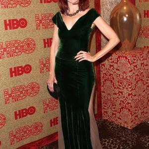 LOS ANGELES, CA - JANUARY 12: Actress Carrie Preston attends HBO's Post 2014 Golden Globe Awards Party held at Circa 55 Restaurant on January 12, 2014 in Los Angeles, California. (Photo by Frederick M. Brown/Getty Images)