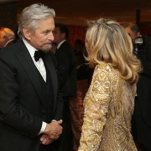 LOS ANGELES, CA - JANUARY 12: Actor Michael Douglas attends HBO's Post 2014 Golden Globe Awards Party at Circa 55 Restaurant on January 12, 2014 in Los Angeles, California. (Photo by Mike Windle/Getty Images)