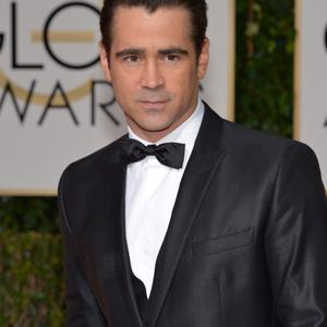 Colin Farrell arrives at the 71st annual Golden Globe Awards at the Beverly Hilton Hotel on Sunday, Jan. 12, 2014, in Beverly Hills, Calif. (Photo by John Shearer/Invision/AP)