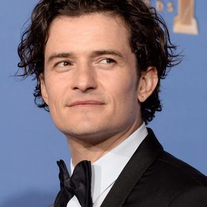 BEVERLY HILLS, CA - JANUARY 12: Actor Orlando Bloom poses in the press room during the 71st Annual Golden Globe Awards held at The Beverly Hilton Hotel on January 12, 2014 in Beverly Hills, California. (Photo by Kevin Winter/Getty Images)
