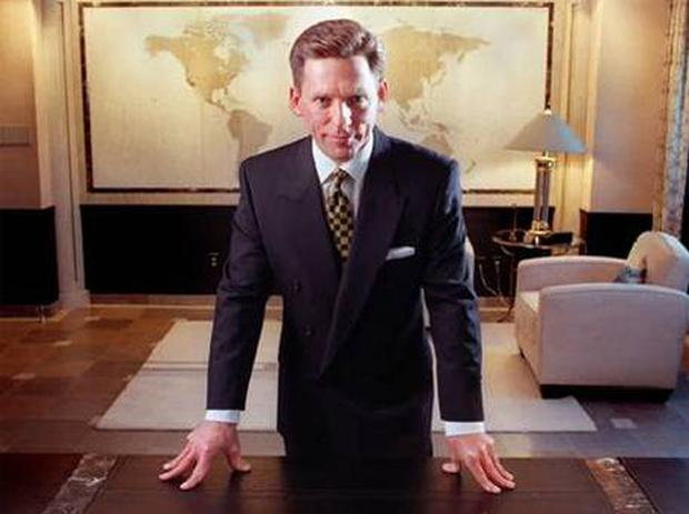 David Miscavige, the head of the Church of Scientology.