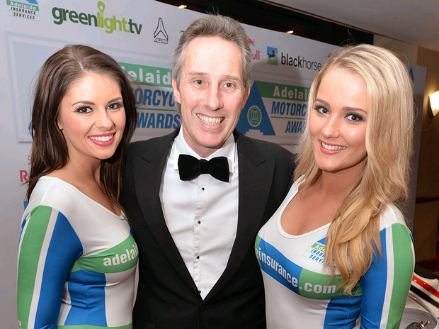 Ian Paisley Jnr pictured at the Adelaide Motorcycle Awards in Belfast