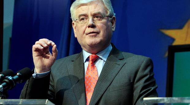 Eamon Gilmore had said there will be a joint intervention by governments to further a deal over the Haass proposals