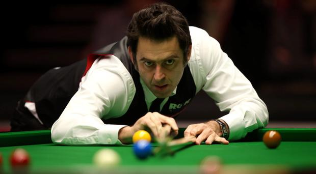 Goody two shoes: Ronnie O'Sullivan finds comfort at the table with suede desert boots