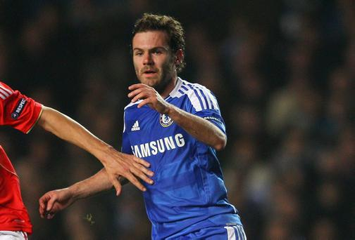 Spain midfielder Juan Mata has been a peripheral figure at Stamford Bridge for most of this season
