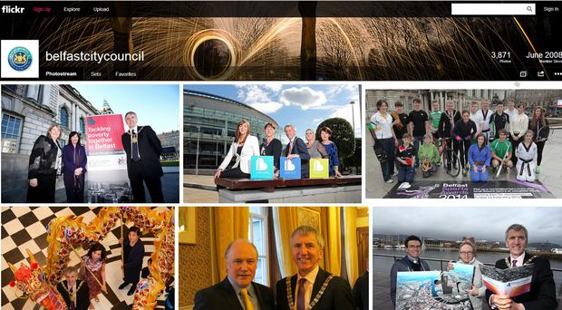 Belfast City Council's Flickr account