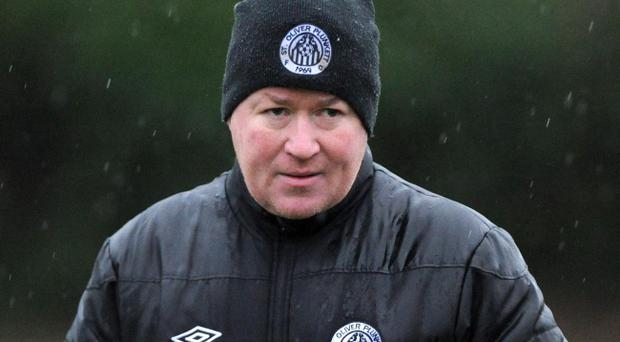 St Oliver Plunkett's manager Liam Hunter is happy with the way things are going this season