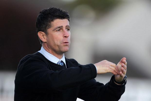 Stephen Robinson is hoping to develop players at home, before they sign for English clubs