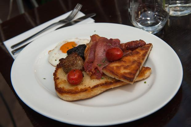 The Ulster Fry - the perfect recovery for the morning after