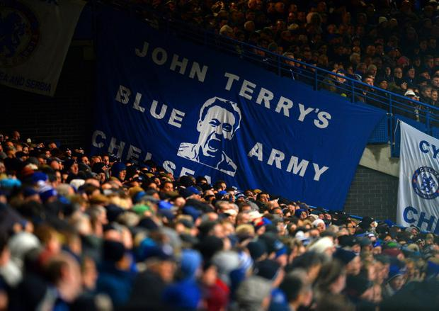 Two Chelsea supporters were believed to have been stabbed