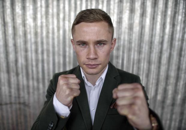 Carl 'The Jackal' Frampton is hoping to defeat 35-year-old Hugo Cazarez and pave the way to a blockbuster clash with Leo Santa Cruz
