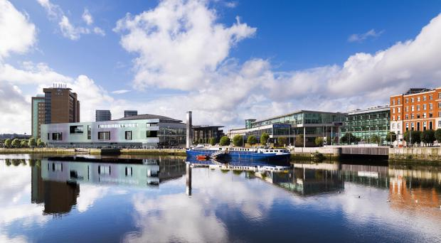 The £29.5m extension of Belfast Waterfront to get underway this summer