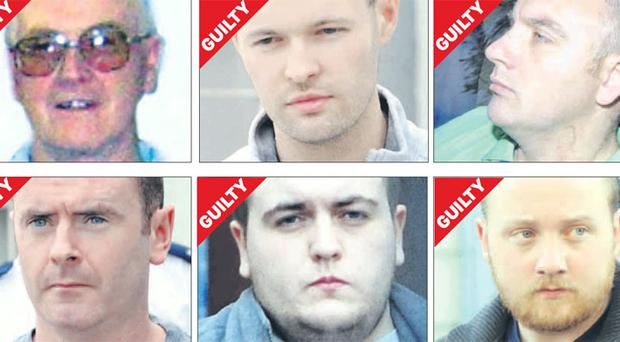Dissidents behind bars