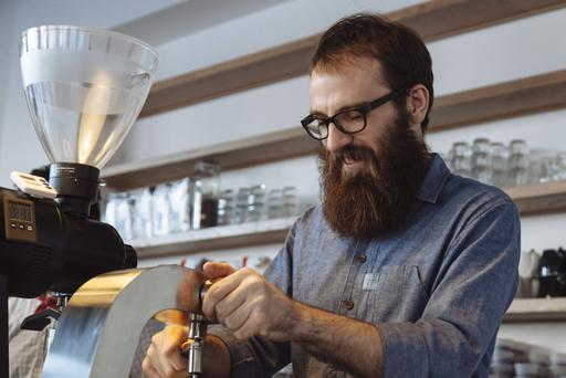 Mark Ashbridge opened his new coffee business in Belfast at the end of last year