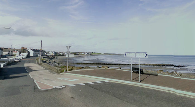 The Shore Road in Ballyhalbert close to High Street. Pic Google Maps