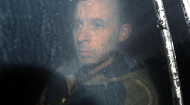 Sean McVeigh appeared in court in Craigavon charged with the murder of prison officer David Black
