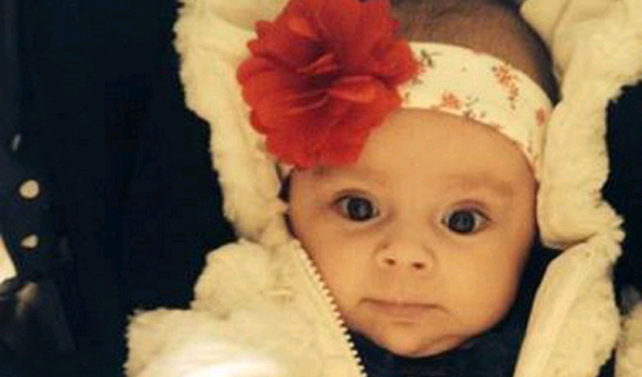 TERRIBLE TRAGEDY: Three-month-old Caragh Walsh died in the RVH on Friday night