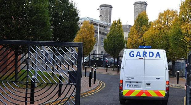 Mountjoy Prison, Dublin, where brothers Stephen (24) and Martin (27) Kelly held another inmate, James Maughan, hostage