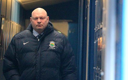 David Jeffrey has announced he is standing down as boss of Linfield. Pic Brian Little
