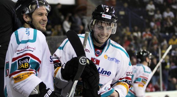 Belfast Giants win Conference and Elite League