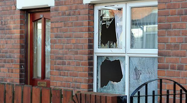Police in York Road are appealing for information following the report of criminal damage caused to a house in the Deacon Street area of North Belfast.