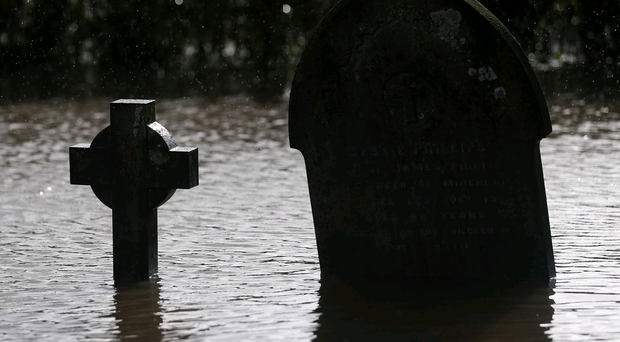 Randalls Park Crematorium in Leatherhead, Surrey, flooded on Christmas Eve and had to close.