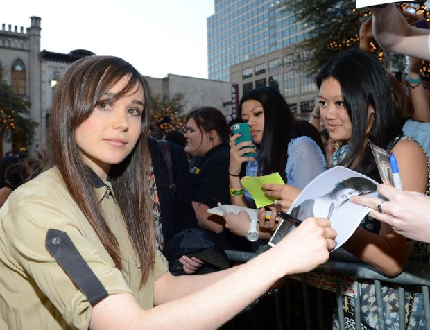 Actress Ellen Page came out as a gay woman during a speech in Las Vegas at the Human Rights Campaign's THRIVE conference
