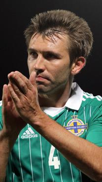 Northern Ireland's Gareth McAuley