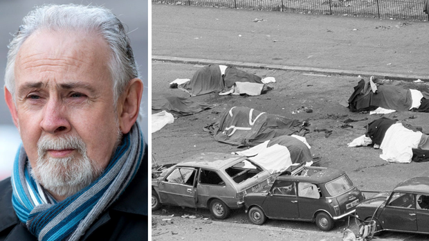 John Downey and the scene after the Hyde Park bombing in 1982