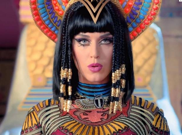 Katy Perry in her Dark Horse music video