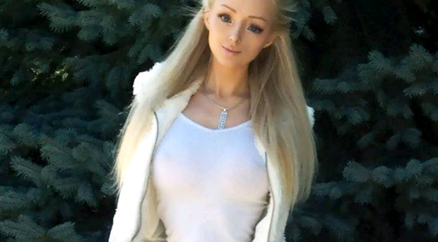 Human Barbie' Valeria Lukyanova has attracted controversy for her doll-like appearance