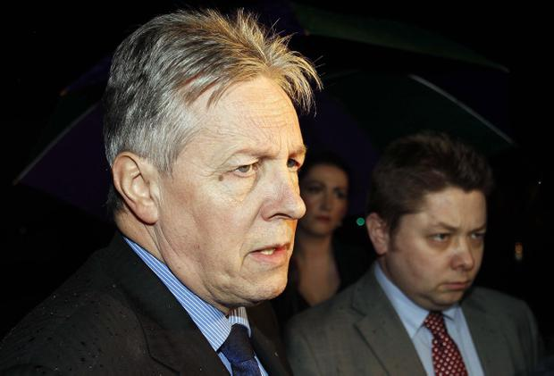 First Minister Peter Robinson says Haass talks issues still need to be addressed