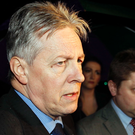 First Minister Peter Robinson at Hillsborough Castle last week
