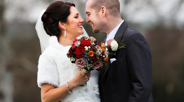 Brendan and Caitriona Morgan from Belfast are enjoying married life following their wedding day in Co Cavan.