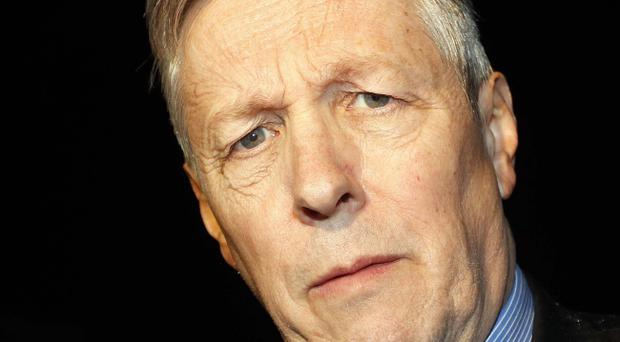 DUP leader and First Minister Peter Robinson