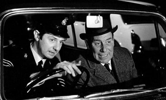 James Ellis (left) in Z Cars
