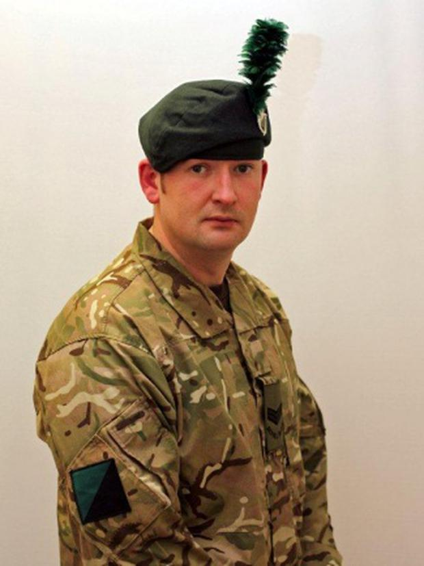 Corporal McNeill (32) was born in Ballymoney, Co Antrim