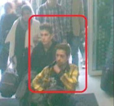 This image released by Interpol shows the two Iranian who were traveling with stolen passports on a missing Malaysia Airlines jetliner