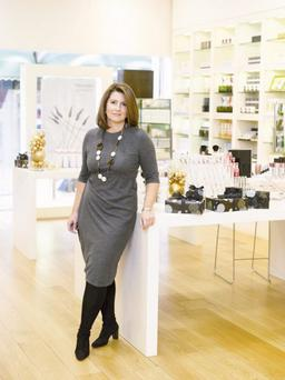 Ulster woman Nicky Kinnaird, the founder of Space NK
