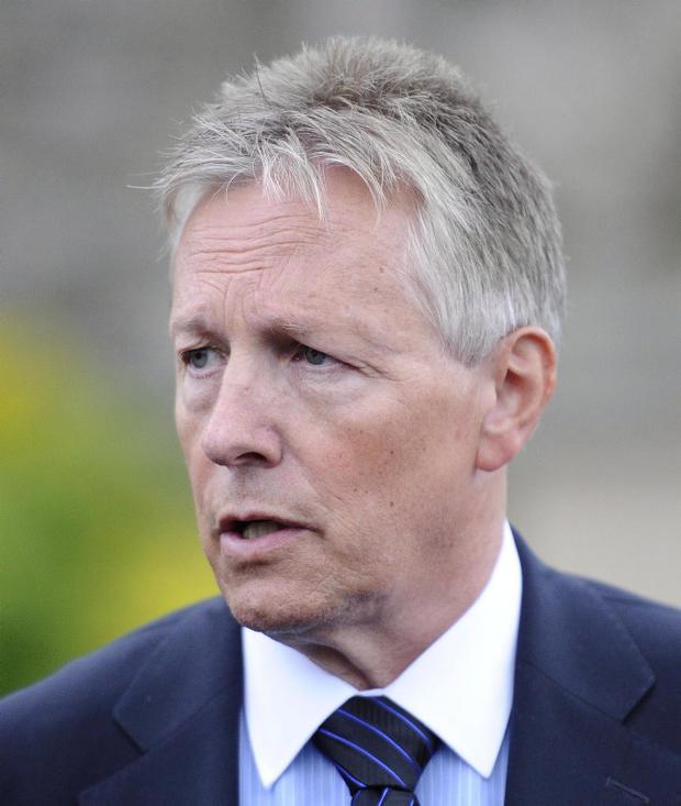 'Peter Robinson knows that if he were to run two candidates for Europe the most likely outcome is neither being elected'