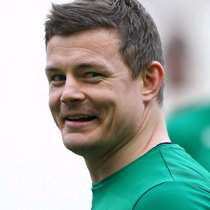 Brian O'Driscoll of Ireland smiles before the RBS Six Nations match between France and Ireland at Stade de France on March 15, 2014 in Paris, France. (Photo by Julian Finney/Getty Images)